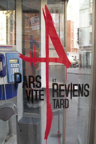 Pars Vite Et Reviens Tard Stickage Anolis