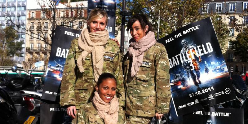 Battlefield 3 Tractage Street Marketing Anolis 4