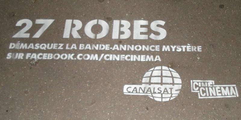 Clean Tag CanalSat Guerilla Marketing Anolis 3