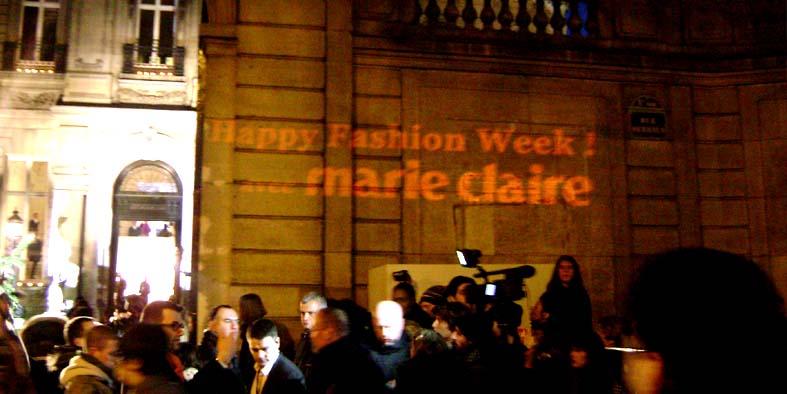 Marie Claire Projet Anolis streetmarketing