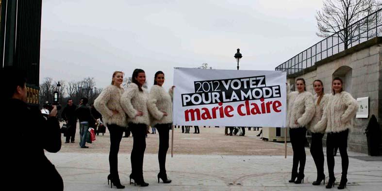 Marie Claire 2012 votez mode anolis