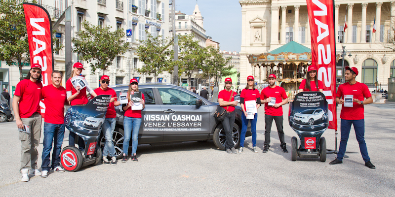 Nissan Qashqai Anolis Roadshow