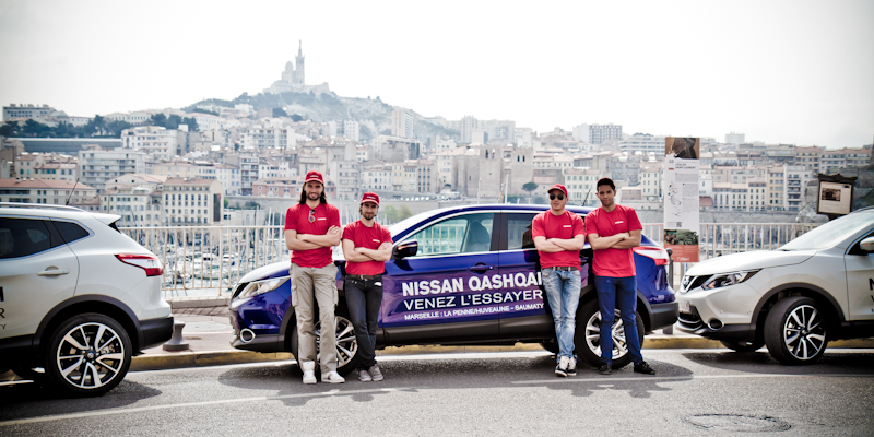 Nissan Qashqai Anolis Roadshow Marseille