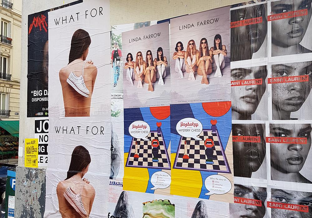 Photos-Article-Linda-Farrow-Milan-Paris-NewYork-affichage-sauvage-Anolis-14