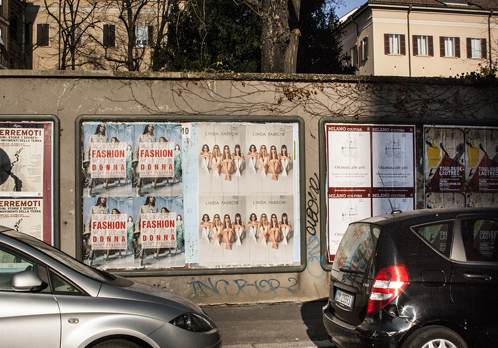 Photos-Article-Linda-Farrow-Milan-Paris-NewYork-affichage-sauvage-Anolis-3
