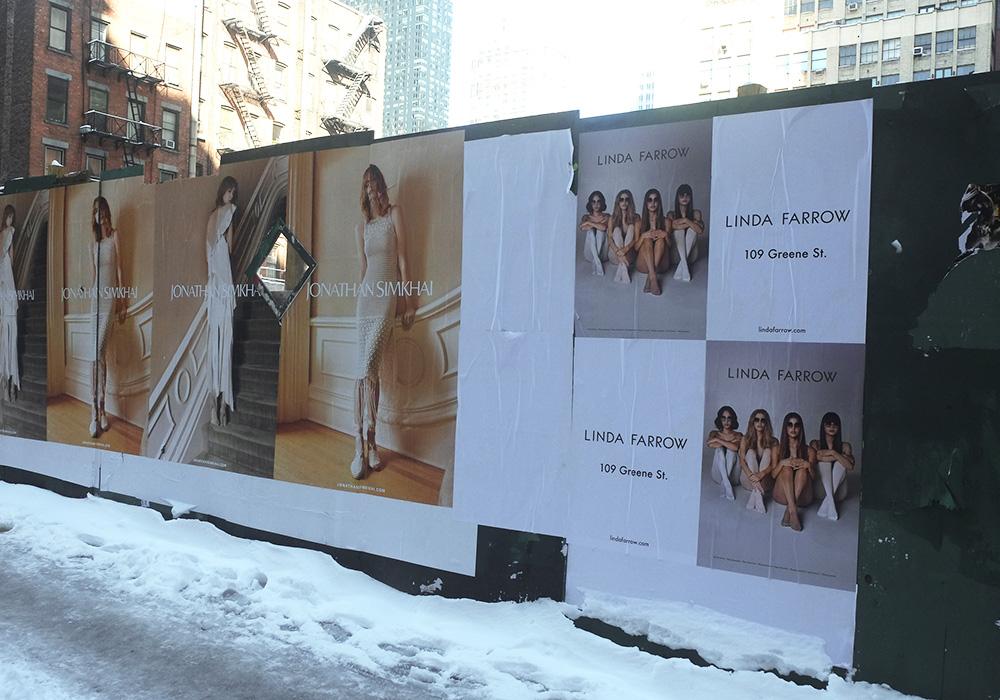 Photos-Article-Linda-Farrow-Milan-Paris-NewYork-affichage-sauvage-Anolis-7