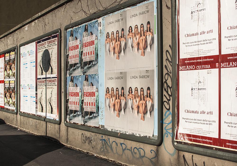 Photos-Article-Linda-Farrow-Milan-Paris-NewYork-affichage-sauvage-Anolis