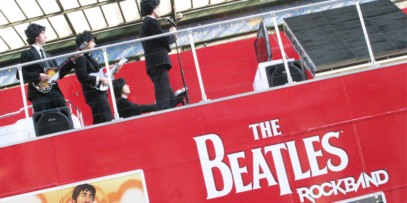 Beatles Rock Band Roadshow