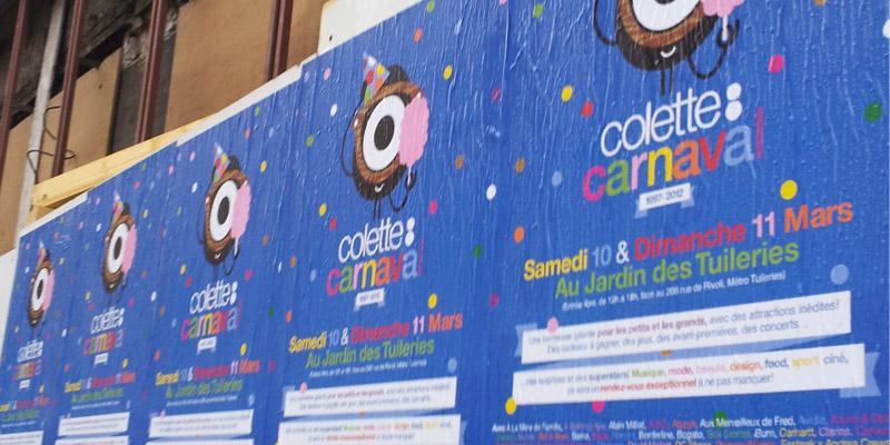 Colette Affichage Sauvage Street Marketing Anolis 2