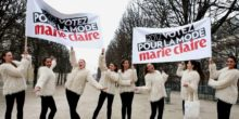 Marie Claire street marketing Anolis