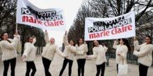 Marie Claire street marketing Anolis