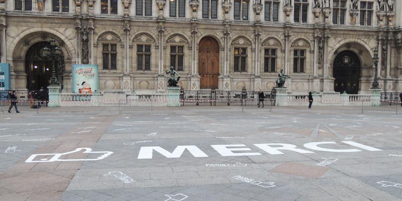 Mairie de Paris Clean Tag Merci Anolis