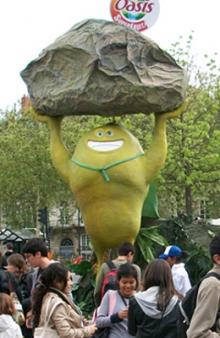 Oasis superfruit roadshow