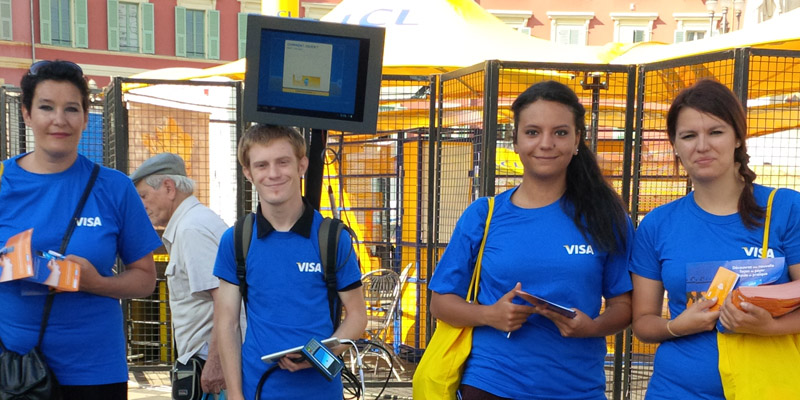 Visa Tractage Street Marketing Anolis