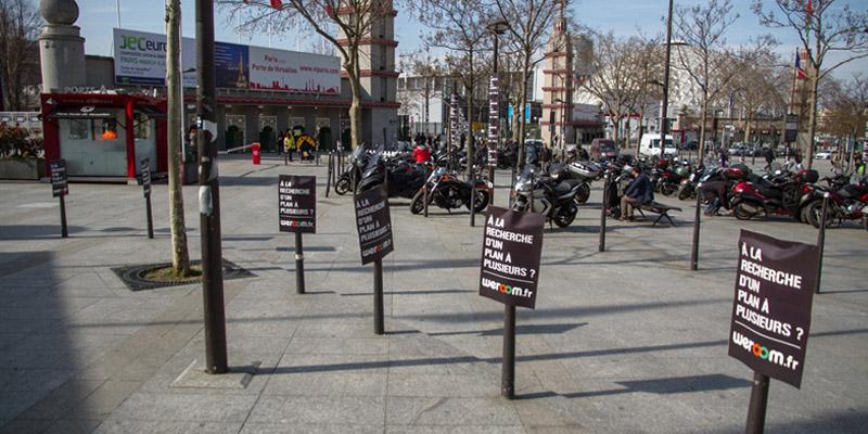 Weroom Tractage Anolis Street Marketing 4