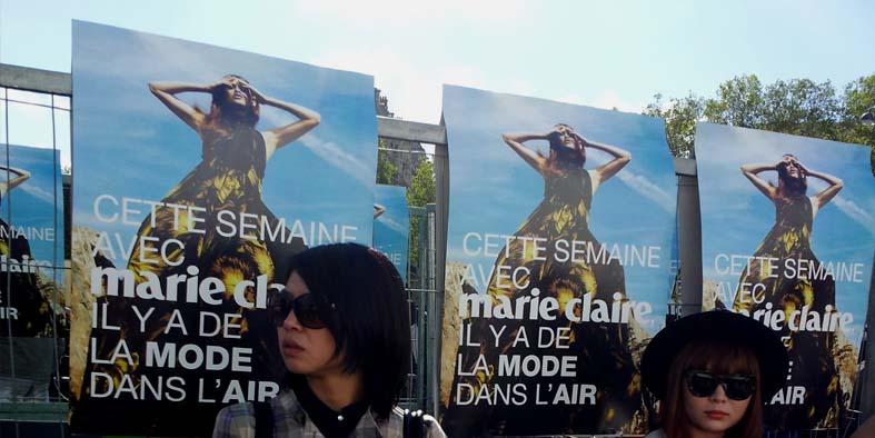Marie Claire Affichage alternatif Anolis
