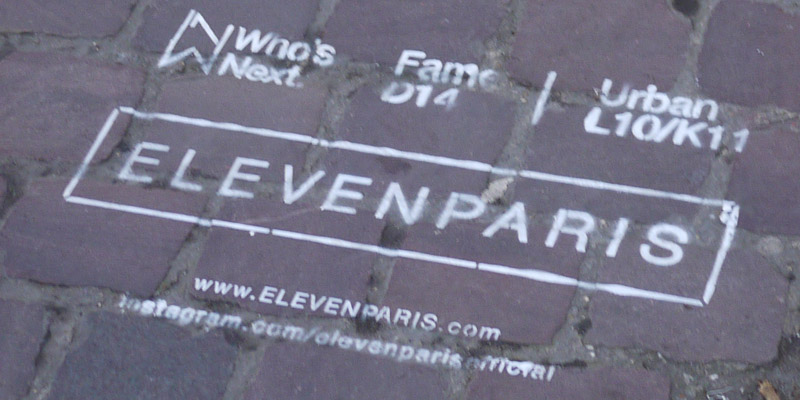 Eleven Pais clean tag street marketing 2