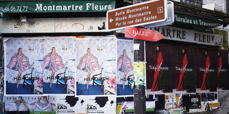 Fashion Week Paris Affichage Sauvage Street Marketing 3