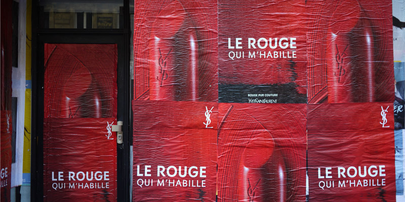 Fashion Week Paris Affichage Sauvage Street Marketing 4