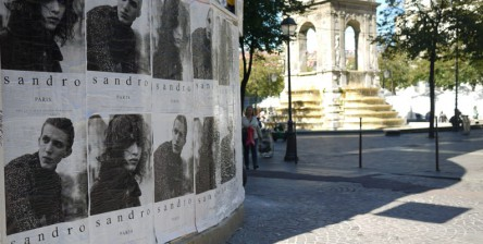 Fashion Week Paris Affichage Sauvage Street Marketing 5