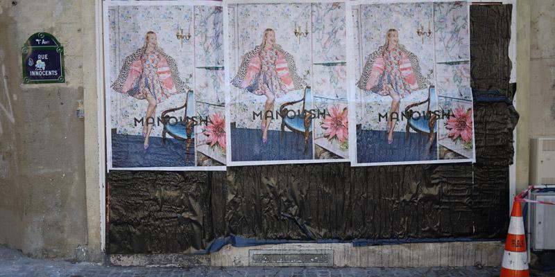 Manoush Affichage Sauvage Street Marketing 2