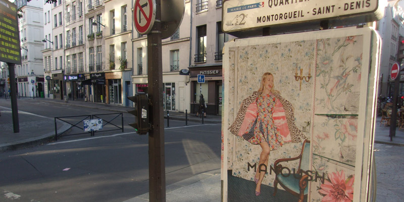 Manoush Affichage Sauvage Street Marketing 3