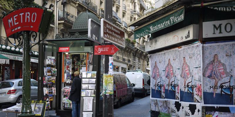 Manoush Affichage Sauvage Street Marketing 4