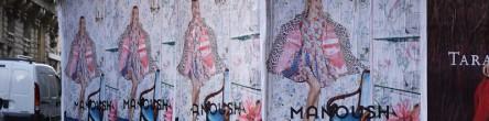 Manoush Affichage Sauvage Street Marketing
