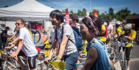 Smile ride event