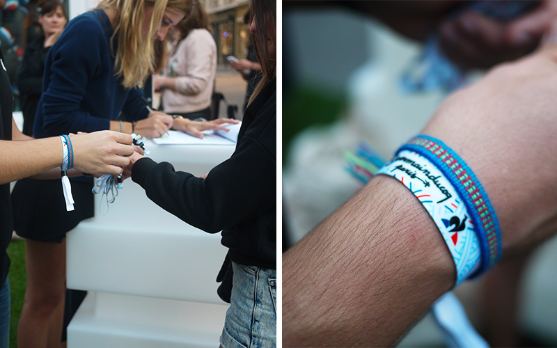 Article-Photo-Le-Coq-Sportif-Street-Marketing-Bracelet-Event-Light