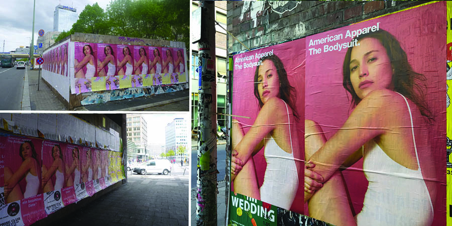 Photo-American-Apparel-Anolis-Affichage-Sauvage-Berlin-2-Light