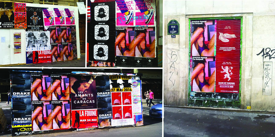 Photo-American-Apparel-Anolis-Affichage-Sauvage-Paris-Light