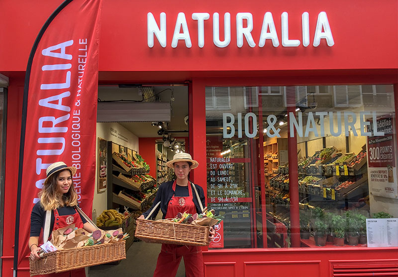 Naturalia ouverture de magasin