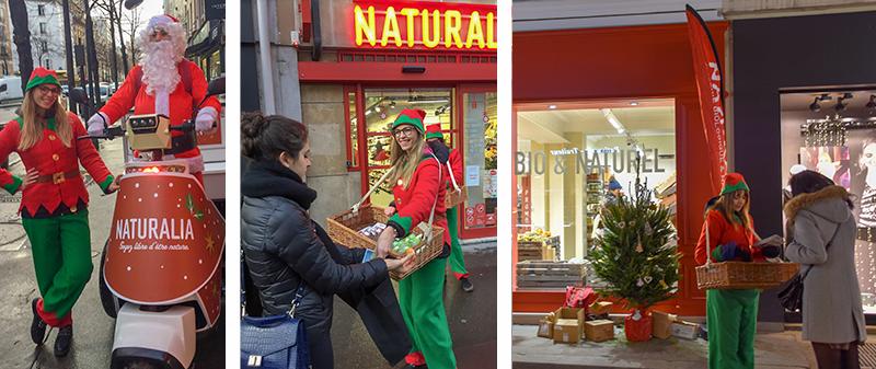 Naturalia ouverture de magasin : Noël